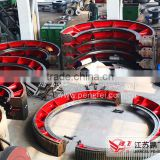 gear wheel for tube mill | ball mill | cement mill produced by Jiangsu Pengfei Group