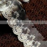 Embroidery cotton lace/rayon lace/nylon lace/flower lace/edge lace/gold thread lace