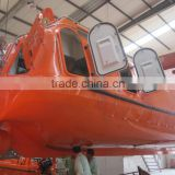 High quality enclosed FRP lifeboat chinese manufacture
