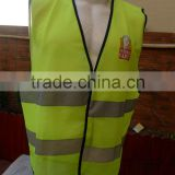 printing safety vest green reflective traffic vest emergency reflective vest