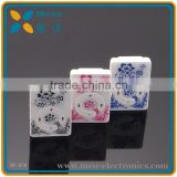 TF card support Blue and White Mini Clip Mp3 Player, Alibaba China sport Mp3