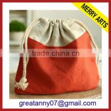2015 new product Alibaba wholesale new product non woven shoe drawstring bag with front zipper pocket drawstring gym bag