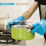 Heat Resistant Silicone Glove Cooking Baking BBQ Oven Pot Holder Mitt Kitchen Red Hot Search