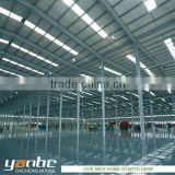 Prefabricated Steel Warehouse / Workshop / Plant / Dining Hall / Hangar / Super Market / Gym