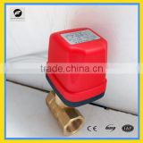 Bronze material CWX-50K 24VDC DC220V G(BSP) 1/4''~5/4'' motorized ball valve electric valve water switch