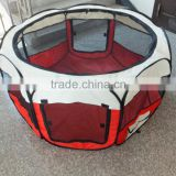 Red Pet Puppy Dog Playpen Exercise Pen Kennel