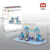 HIQ Famous buildings London Bridge plastic mini bricks and blocks toy