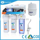 5 stages home water purifier with ro booster pump reverse osmosis system
