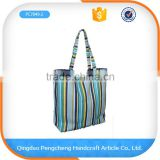 Hot sell fashoin colorful summer printed promotional straw eco-friendly crochet bag free pattern