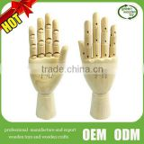 2016 Top New wooden artist hand model,Flexible Manikin Wooden Hand Model,High quality wooden hand model