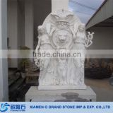 2015 Stone Statue Hot Sale Bali Large Stone Garden Statues