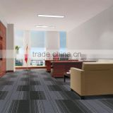 PP Tufted Carpet Tile with PVC Backing, Office Carpet Tiles, Modular Carpet Tile for office and commercial use