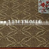 natural hotel banquet carpet non-slip latex backing sisal carpet water proof for luxury house decoration