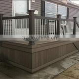 new outdoor constraction material woodlike composite plastic fence panels