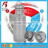 550ML Titanium eco-friendly healthy stainless steel sports thermos water bottle