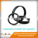 putzmeister /schwing/sany/zoomlion/ HD concrete pump pipe coupling rubber ring/seal/gasket