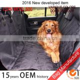 Black microfiber quilted padded top quality pet car seat cover for dogs soft and confortable                                                                         Quality Choice                                                     Most Popular