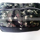 Custom Travel Army Green Toilet Bag