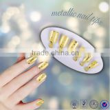 Beautdy product leopard designed ABS artificial nail tips full cover color manicure false nail art tips