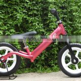 "My First Smart Balance Bike Ultra - Lightweight Frame Kids Bike - AIR - Fire Engine Red 12"" Pneumatic Tires"