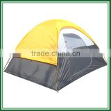 Lightweight waterproof Double layer geodesic dome tent