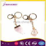Customisable Packaging Druzy Alloy Wholesale Sexy Women Key Chain