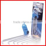 9pc Extra Long Arm Ball Point Hex Key Wrench Set