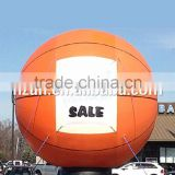 Giant Inflatable Basketball Ground Balloon/Giant Inflatable Balloon
