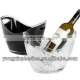 champagne ice bucket for beer with handle for pop bar