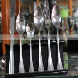 party wedding silver Cutlery/Silver Coating Plastic Cutlery /Wholesale fork spoon and knife