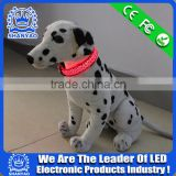 2015 Hot Selling Christmas led Electric Dog Collar With Leopard