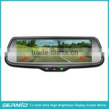 OEM Mirror with Rear Camera Display 3x Video Full HD Smart Rear View Mirror
