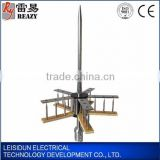 Stainless steel early streamer emission building lightning arrester