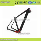 indoor man play equipments mountain bicycle frame carbon fiber materials with fat bike accessorie free provided together