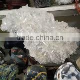 Wholesale natural clear white quartz crystal cluster mineral specimen crystal cluster for decoration