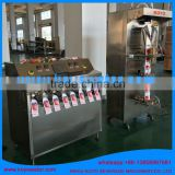 water juice 8 nozzles forming bag fill seal machine