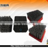 abrasive stone polishing brush fickert for marble