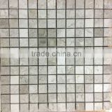 Silver Polished Mosaic 2,3 X 2,5 Mosaic Tiles Turkish Mosaics For Interior Walls Marble Mosaics Travertine Tiles Emperedor