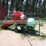 widely used corn silage baler machine