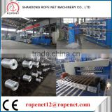 ROPE NET PP/PE/HDPE plastic film making/stretch machine(for strapping tape/net/rope/bag)