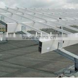 Plastic Advanced steel structure photovoltaic stents Solar Panel Ground Mounting System Solar photovoltaic stents