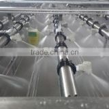 plastic spray nozzles for beverage tunnel pasteurizers