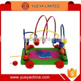 small size trailer and rolling beads toys