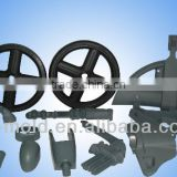 Plastic injection molded wheelchair spare parts
