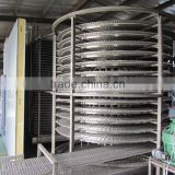 Wholesale China Factory meat single drum spiral iqf freezer