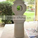 Japanese garden lantern from Chinese fit for candle holders