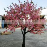fake flower tree china wedding decoration factory wedding ornament fake peach flower tree