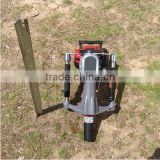 52mm Petrol Gas Powered Electric Power Mini Hand Fence Pile Piling Driving Machine Portable Gasoline Star Picket Post Driver