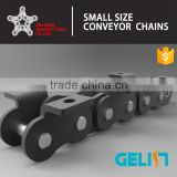 A B serise short pitch carbon steel conveyor roller chain with attachment Chinese factory