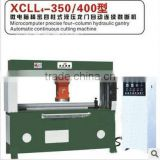 XCLL4-350/400 Travelling Travel Head Cutting Presses Machine For Shoe,Hydraulic Traveling Head Cutting Press